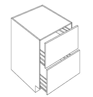 Two Drawer Pack Base