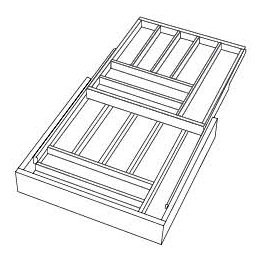 2-Tier Cutlery Drawer
