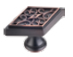 561DBAC Knob in Brushed Oil Rubbed Bronze
