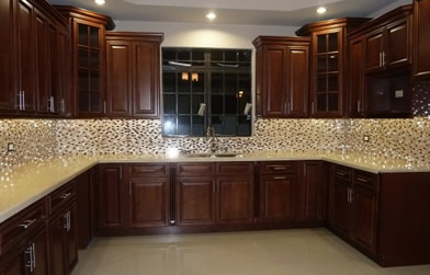 Buy Bayshore Brown Discount RTA Kitchen Cabinets Wall Cabinets