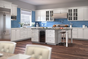 Kitchen Cabinets Polar White