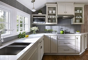 Kitchen Cabinets Silver Horizon
