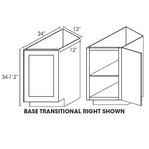 Base Transitional Cabinet