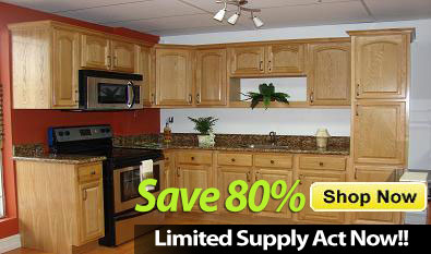 A Country Oak Kitchen Cabinets In Miami Florida