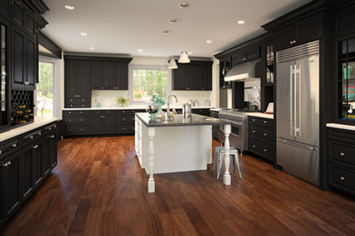 rta kitchen cabinets oxford ebony