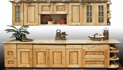 Discount kitchen cabinets knotted oak