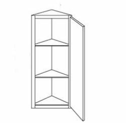 Wall Triangle End Cabinet