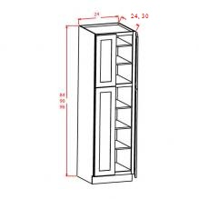 Pantry Cabinet Double Door