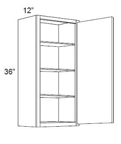 36'' High Single Door