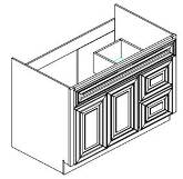 Vanities with Drawer Options