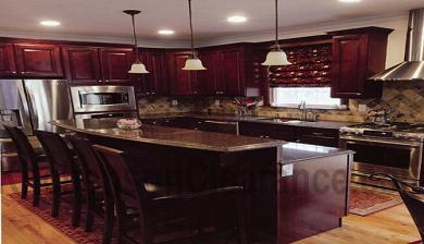 Buy Cimarron Cherry, Discount RTA Kitchen Cabinets