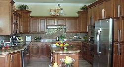 Buy Spice Maple, Affordable RTA Kitchen Cabinets