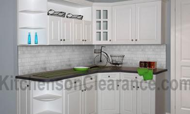 Buy Capri White, Wholesale RTA Kitchen Cabinets