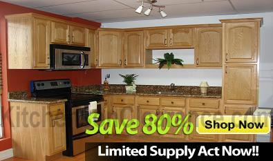 Buy Country Oak, Discount RTA Kitchen Cabinets