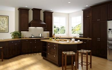 Buy Dark Epic Shaker, Affordable RTA Kitchen Cabinets