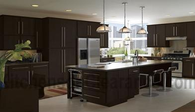 Buy Euro Dark Chocolate, Discount RTA Kitchen Cabinets