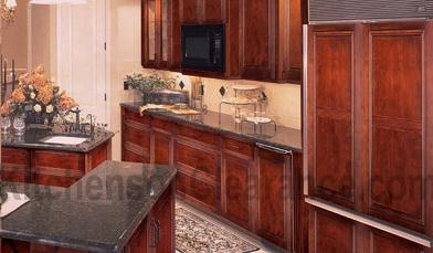 Buy Recessed Cherry Glaze, Discount RTA Kitchen Cabinets