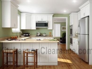 Buy White Shaker, Wholesale RTA Kitchen Cabinets